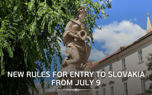 New rules for entering Slovakia from July 9, 2021