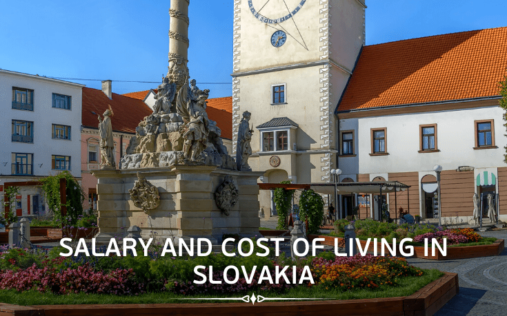 Salary and cost of living in Slovakia