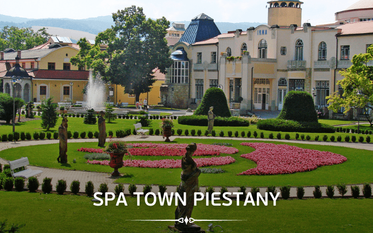Spa town Piestany